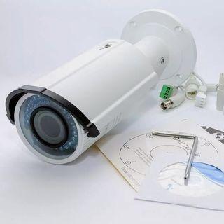 Cámara Seguridad IP con alarmas 1080p POE