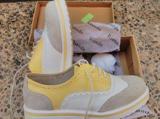Blucher Amarillos