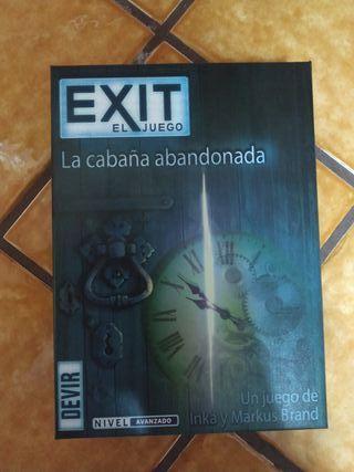 Exit. La cabaña abandonada.