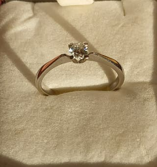 Anillo diamante 0,20 quilates