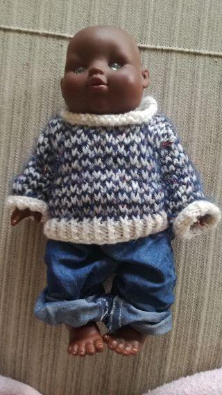 recién nacido muñeco