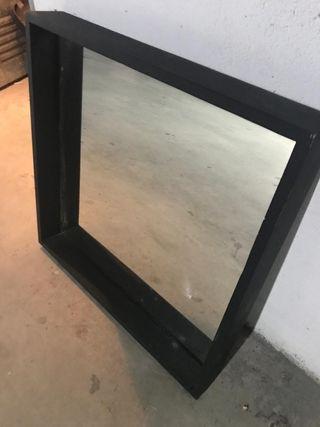 Espejo negro ikea