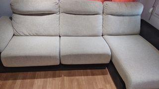 Sillón cherlon 3 plazas reclinable y extensible