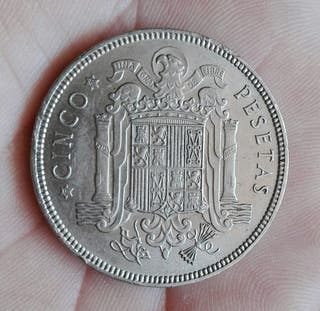 5 pesetas 1949 *49