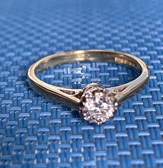 Anillo diamante