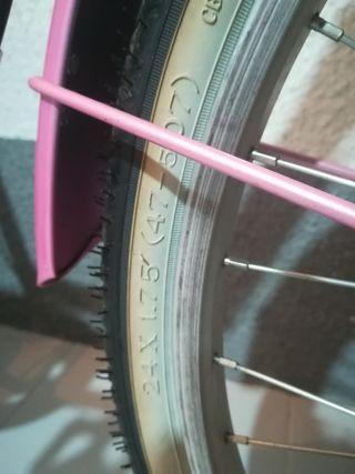 Bicicleta infantil niña Megamo