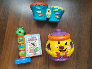 Lote juguetes Fisher Price-Eurekakids