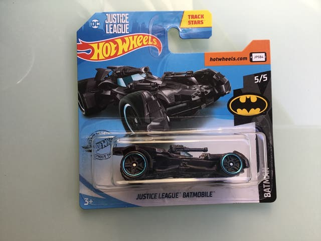 Hot wheels Justice League Batmobile negro
