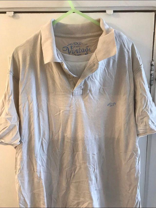 Men's beige T-shirt