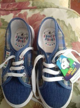 Zapatillas Snoopy