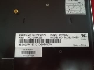 Teclado Original Lenovo para Portátil