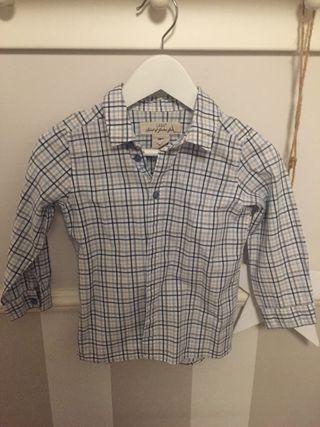 Ropa niño camisa cuadros