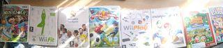 8 juegos para la Wii/ Wii U.