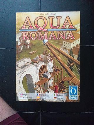 juego de mesa aqua romana. completo.
