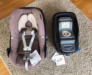 Maxicosi y base isofix bebé confort