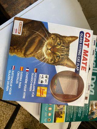 Gatera - puerto para gatos pequeños