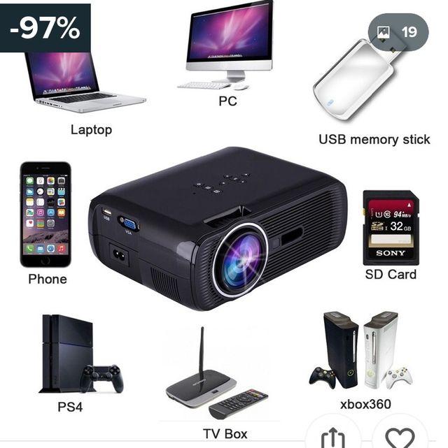 PROYECTOR FULL HD 3000 lumens
