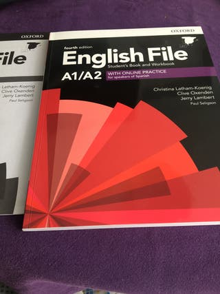 Libro ingles A1/A2