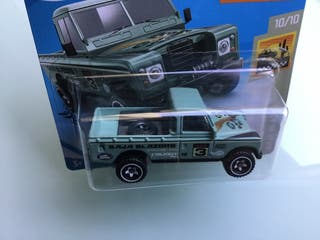 Hot wheels Land Rover SerieIII Pickup baja blazers