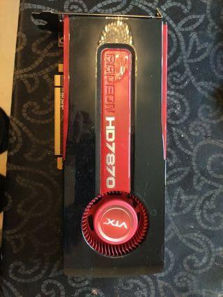 Tarjeta Gráfica Radeon HD7870 2GB Hdmi