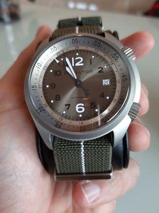 Reloj Hamilton khaki pioneer pilot Aluminium