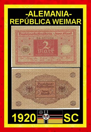 Billete de Alemania