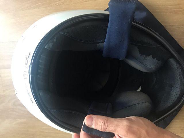 Casco NZi Premium S de fibra, talla 54 XS