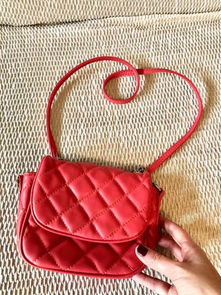 Bolso mini - Zara - color coral