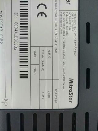 Router fibra smart wifi hgu
