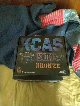 Alimentación KCAS 500W Bronce AeroCool NUEVA