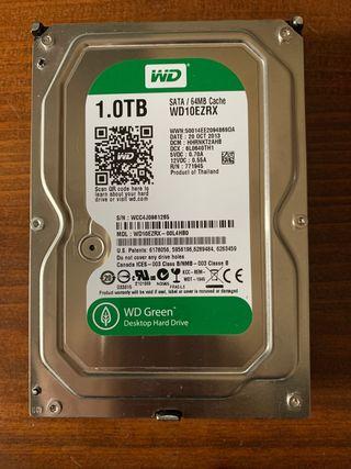 Disco duro WD de 1 TB