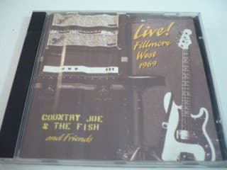 Music CD - Country Joe & The Fish - Live! Fillmore