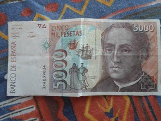 BILLETE 5000 PESETAS
