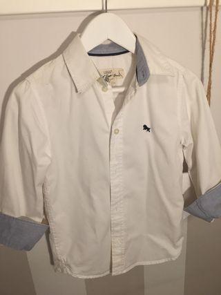 Ropa niño camisa blanca