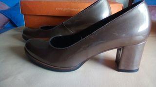 zapatos salón gadea