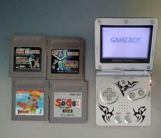 Gameboy advance sp + juegos