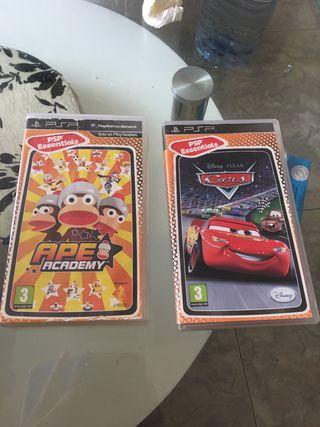 Videojuegos de PSP