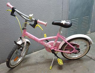 Bicicleta Btwin Princess 16