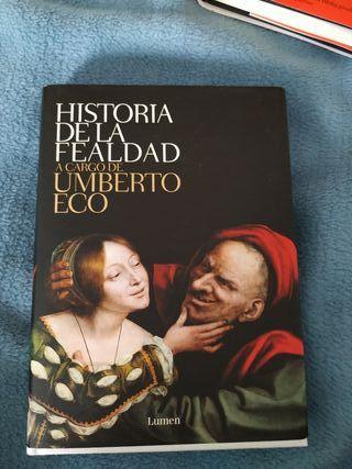 libro historia de la fealdad