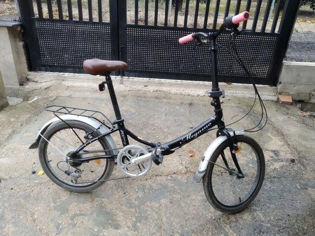bicicleta plegable megamo zambra 20'