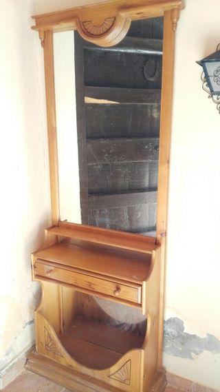 Mueble Recibidor Rústico