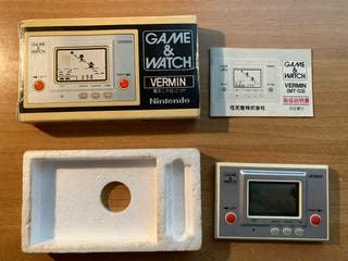 Nintendo Game watch vermin