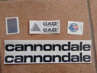 pegatinas Cannondale