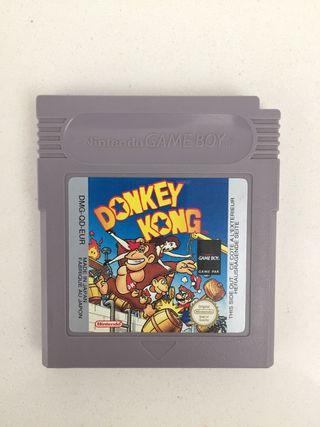 Donkey kong para Game Boy