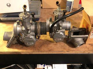 Carburador Keihin 28 Trial original + caja láminas