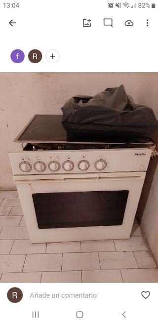 Regalo horno y vitro funcionando.