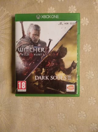 Dark souls 3/The Witcher 3 para Xbox One
