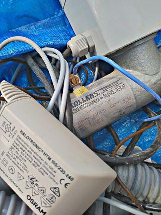 Bomba de agua Espa y componentes para jacuzzi