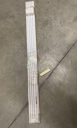 2 rieles para paneles japoneses