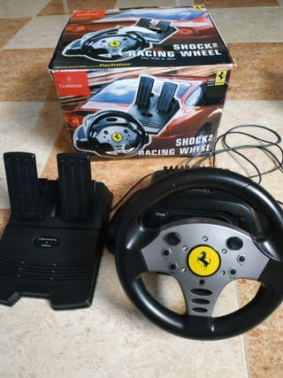 volante y pedales play2